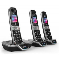 BT 8600 Advanced Call Blocker Trio Digital Cordless Phones + Answer Machine