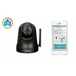D-Link Home Monitor 360 - DCS-5010L Pan/Tilt Night Vision, Remote Monitor