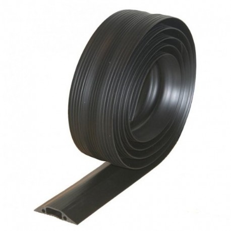Commercial Grade Heavy Duty Anti Trip Safety Cable Cover For Floors, 3m Black