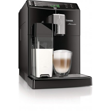 Philips HD8763/18 Saeco Minuto Automatic Espresso Machine 1.8 Litre, 1850 Watt, 15 Bar, Black