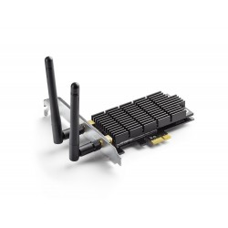 TP-LINK T6E AC1300 Archer Dual Band Wireless PCI Express Adapter with Two Antennas