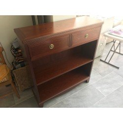 G-Plan - Single Drawer 2 Shelf Mahogany Bookcase