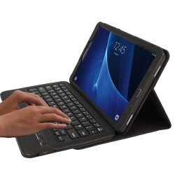 TECHGEAR STRIKE FOLIO Bluetooth Keyboard Case, Samsung Galaxy Tab 10.1 T580/T585