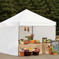 ProShade Professional-Grade Aluminium 10 x 10 Instant Canopy With Side Screens
