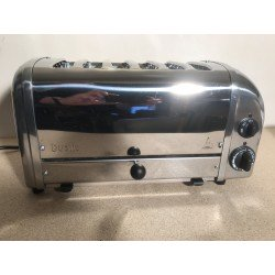 Dualit 60144 Classic 6 Slice Polished Steel Commercial Toaster - RRP 228