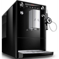 Melitta Caffeo SOLO + Perfect Milk, Bean to Cup Espresso/Cappuccino, Black/Silver