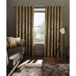 STUDIO G Naples Room Darkening Curtains - Eyelet, Gold 168x228cm (66x90in)
