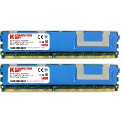 Komputerbay 8GB (2x 4GB) 240 Pin 800MHz PC2-6400F DDR2 ECC Fully Buffered FB-DIMM Memory Module