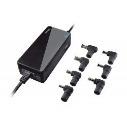 Trust Primo Universal 90W 15-20V Laptop Charger - Fits Most Brands - Black