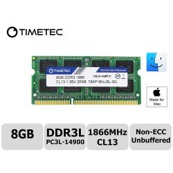 Timetec Hynix IC 8GB DDR3L 1866MHz PC3-14900 SODIMM Memory Upgrade For iMac