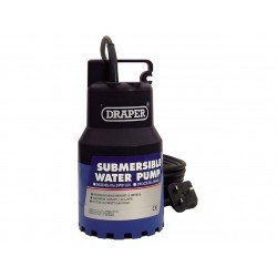 Draper 35463 Submersible Water Pump 120l/min (max.) 200W 230V