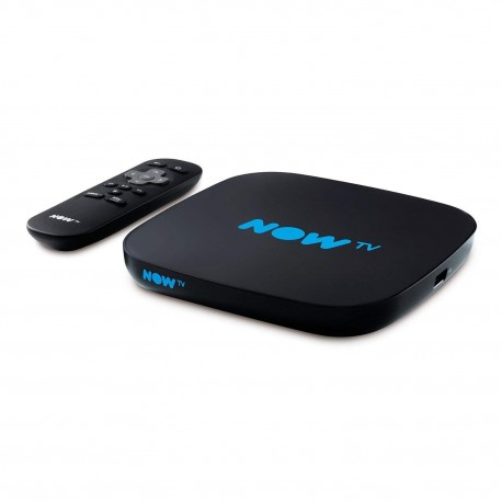 NOW TV Smart Box Set Top Box - No Subscription - No Pass - Freeview, Netflix + More