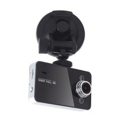 "Vehicle Dash Cam DVR 1080p Full HD 2.7"" Screen - Motion Detection + Night Vision"
