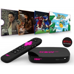 NOW TV Smart Box with 4K HD & Voice Search - Netflix, TV Catchup +More
