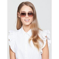 Juicy Couture JU 582/S Rose Gold/brown Pink Shaded Sunglasses