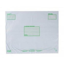 10 Extra Strong (60mi) Large Opaque Mailers 595x430mm, Long Side Closure