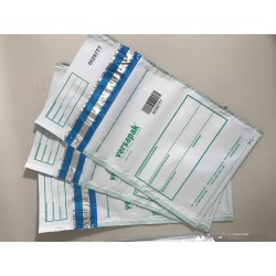 VersaSafe Tamper Evident Secure Mail Pouches 165x260mm 100 Sequentially Numbered