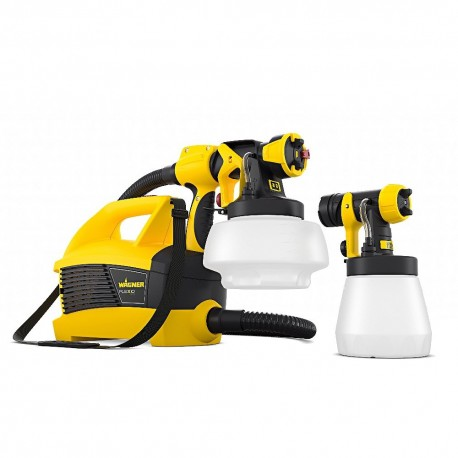 Wagner W690 Flexio Universal Paint Sprayer + 1800 ml + 800 ml Paint Canisters