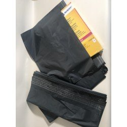 50 Versapak Strong Grey Mail Bags 595x430mm 23.5x17in, Long Side Opening