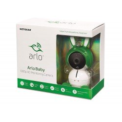 Netgear Arlo Baby Video Monitoring Camera, Rechargeable Battery, 2 Way Audio, Lullaby