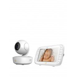 Motorola MBP50 Video Baby Monitor 5-inch Full Colour Curved Parent Display Unit