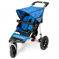 Out n About Nipper Single 3 Wheel Sport Buggy - Blue