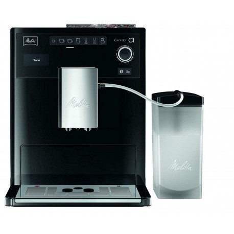 Melitta E970-101 Caffeo CI One-Touch Fully Automatic Coffee Maker - Silver