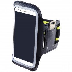 "ONN Universal Neoprene Armband for 5"" Phones, Black"