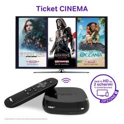 NOW TV Smart Box Set Top Box - Freeview, Sky, Netflix + More Without A Dish