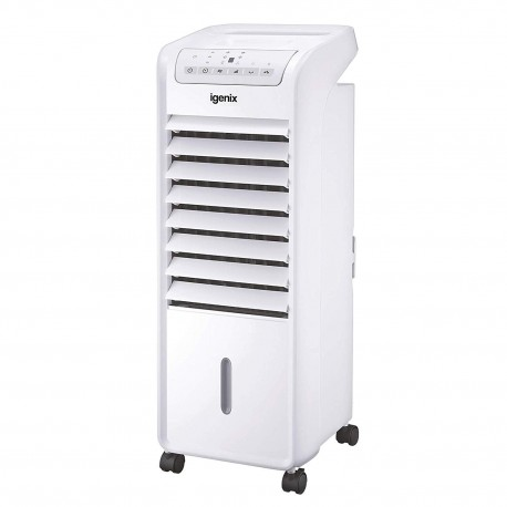 Igenix IG9703 Portable Air Cooler with Remote Control and LED Display