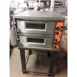 "Moretti Forni Grain ""Pizzy"" Double Deck Electric Pizza Oven"