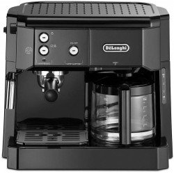 Delonghi BCO 411.B Combi Espresso & Filter Coffee Maker - Black