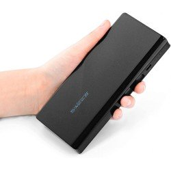 Swees 20000mAh High Capacity Power Bank, Dual USB Port with Powerful 3.5A Output, External Battery Pack