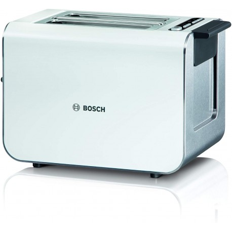 Bosch TAT8611GB Styline Collection Toaster, Two Slice - White [Energy Class A]