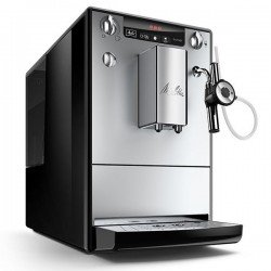 Melitta SOLO & Perfect Milk E957-101, Bean to Cup Automatic Espresso/Cappuccino, Black/Silver