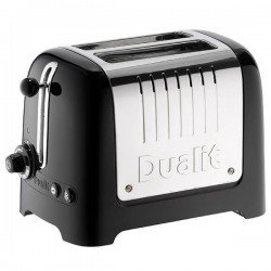 Dualit DA26205 2-Slot High Gloss Lite Toaster - Black