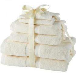 Victoria London 6pc Luxury 100 percent Cotton Towel Bale - 2 Bath, 2 Hand, 2 Face