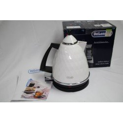 Delonghi Brilliante Gloss White Kettle