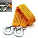 3M Heavy Duty 3 Ton Nylon Tow Rope With Forged Steel Safety Hooks