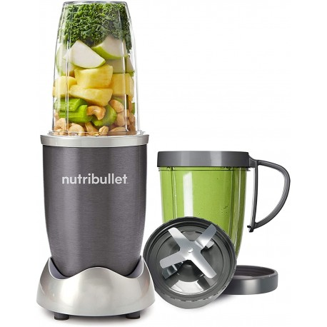 NUTRiBULLET 600 Series - Nutrient Extractor High Speed Blender - 600 W - Graphite