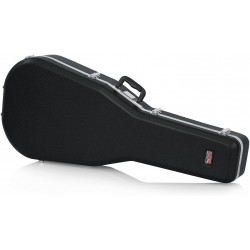 Gator GC-DREAD Deluxe Molded Case For Dreadnought Acoustic Guitars