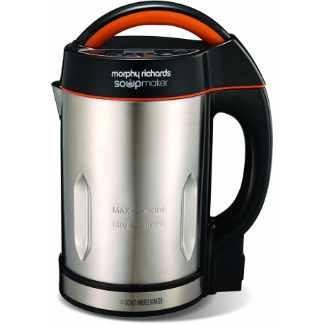 Morphy Richards Soup Maker - Stainless Steel