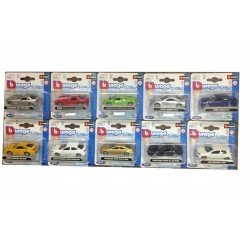 BBurago 1/64 Scale Die Cast Models Miniatures - Single Models Or Full Set