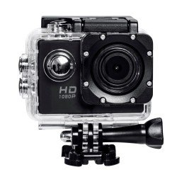 "GoPlus 12MP Full HD 1080p Wi-Fi Waterproof 30m Action Cam 2"" LCD + Remote View"