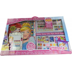 Disney Princess World Of Creativity Giant Art Box, Over 1000 Items