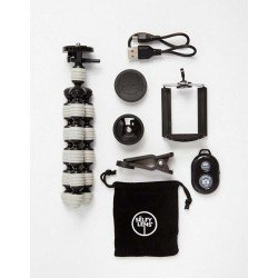 The Selfy Store Blogger Bundle - Tripod, Wide Angle Lens, Remote Shutter