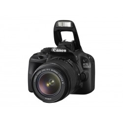 CANON EOS 100D DSLR Camera With 18-55 mm f/3.5-5.6 IS STM Zoom Lens 18MP Black