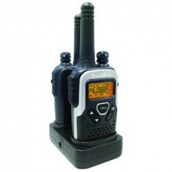 Binatone Action 1100 PMR (968 Channels) Rechargeable Two way Radio Twin Pack