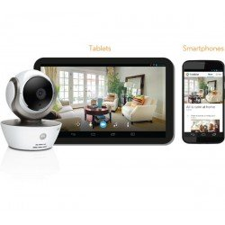 Motorola Focus85 HD Wireless Video Surveillance Cam/Baby Monitor - Pan Tilt Zoom