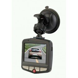 "1080p Full HD Vehicle Dash Cam DVR, Motion Detection + Night Vision, 2.7"" Screen"